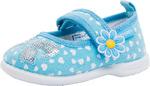 131109-12 голубой туфли ясельно-малодетские текстиль 20-26 14