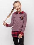 "Рубашка для девочки ""Звезда"" (рост 134 см)"