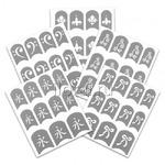 Трафарет для Nail Art на клеевой основе Planet Nails 23024 Код: 7450