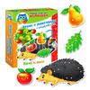 Игра для малышей. Игры с липучками и шнуровка Ёжик. 1-3 года
