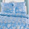 "Одеяло ""Лебяжий пух"" голубой тик"