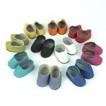 Набор кожаных ботиночек для кукол, 10 пар