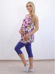Капри летние для беременных К-16