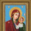Набор для вышивания РТ-043 Образ Божией Матери Казанская (Россия) 26, 1х19, 1 см, бисер - 13 цветов