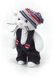 """Набор для шитья игрушки """"Снежок в штанишках и шапке"""", арт.4104"""