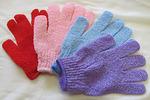 Перчатка массажная (мочалка) многоразовая