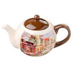 MILLIMI Итальянская улочка Чайник заварочный 580мл, керамика 824-867