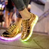 Кеды светящиеся Amhero GOLD