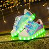 Детские светящиеся кроссовки Amhero KID