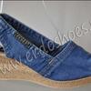Босоножки джинсовые 311-1044-73