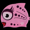 Шапочка для плавания AWT Fish Stella/Pink, силикон, 91915 91 Arena