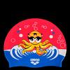 Шапочка для плавания AWT MULTI JR kora/fuchsia, силикон, 91925 98 Arena