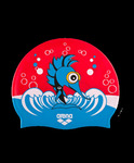Шапочка для плавания AWT MULTI JR punk/red, силикон, 91925 10 Arena