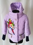 Красивая курточка для девочки весна осень