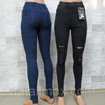 """Джеггинсы (эластичные джинсы) женские, РОСТОВКА (от 40 до 50 р.) Пр-во """"Золото""""."""