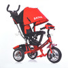 Велосипед 6622-BW Air 3-х колесный красный (надувные колеса)