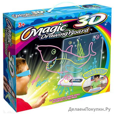 ДОСКА MAGIC DRAWING BOARD 3D
