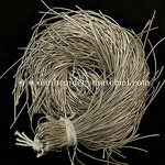 EmbroideryMaterial French Wire for Beading(Dabka), Frost Color, 1MM, 45.72 Mtr(100 Gram)