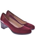 Женские комбинированные туфли