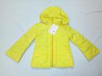 Куртка для девочки желтый 1060
