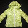 Куртка для девочки салатовый одуванчик 1060