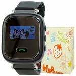 GPS Smart Kids Watch FW03C чер
