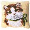 """Набор в ковровой технике PN-0014138 (3541) """"Котенок с бантиком"""""""