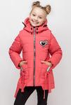 """Демисезонная куртка-жилетка для девочки """"Бантик"""""""