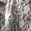 Портьерная ткань блэкаут корона двусторонняя серый