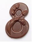Фигура 8 Марта, шоколад три вида см, 40гр