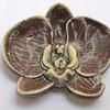 Фигура Орхидея, шоколад темный+белый, 8см, 40гр