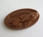 Фигура Ракета Russia, 11*6см, 55 грамм