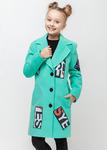 """Пальто демисезонное для девочки """"New York"""". Распродажа!!!"""