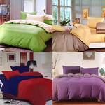 Комплект постельного белья 4 уп  Fashion 2-спальный Сатин (Палитра A)