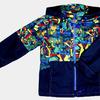4142 Куртка для мальчиков на флисе