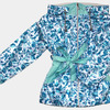 4235  Куртка для девочек на флисе