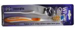 Зубная щетка Soft Вайт Гло+ ластик для удаления налета(мягкая щетина)