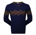 Пуловер с орнаментом (1390)