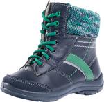 352141-31 синий ботинки малодетско-дошкольные нат. кожа 25-28 8