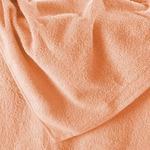 Простыня махровая на резинке 160*200*30 цв. персик