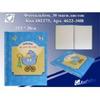 Фотоальбом магнитный 30 листов 22,5*28см 4622-30В ''Baby'' голубой + подарок