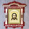 икона из дерева  СПАС НЕРУКОТВОРНЫЙ