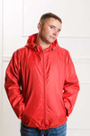 Арт. KMК. Мужская куртка-ветровка с капюшоном. 3 цвета