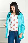 Арт. KG-004 Удлиненная куртка-ветровка с капюшоном, много цветов