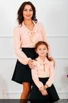"""Комплект блузок для мамы и дочки """"Офис"""" М-261"""