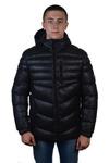 Куртка зимняя мужская Модель ЗМ 10.18 чёрный