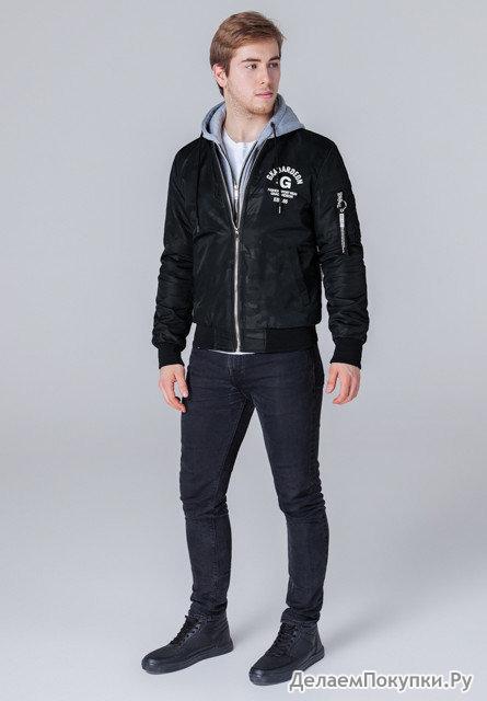 Весенне-осенняя мужская куртка-бомбер р-р 48-56 (цвет в ассортименте)