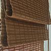 Бамбуковые римские шторы цвет какао