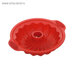 Форма для круглого кекса, силиконовая, 29,5x25,5x6,2 см MILA NADOBA MILA