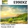 "Алмазная мозаика на рамке АМ34 ZX0663 ""Зеленый склон к морю"", 30х40 см"